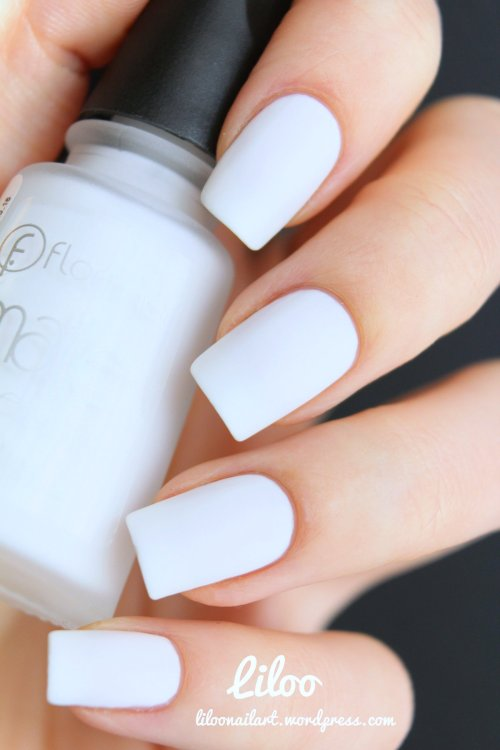 Flormar matte  blanc