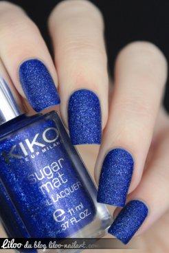 Royal Blue sugar mat kiko
