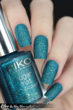 Teal Green sugar mat kiko