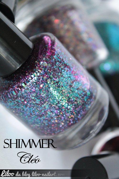 shimmer polish cléo