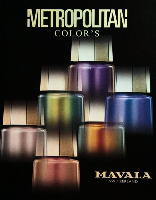 mavala metropolitain color's nail art