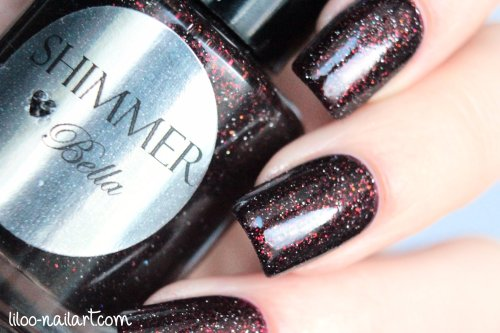 Bella Shimmer Polish liloo nail art