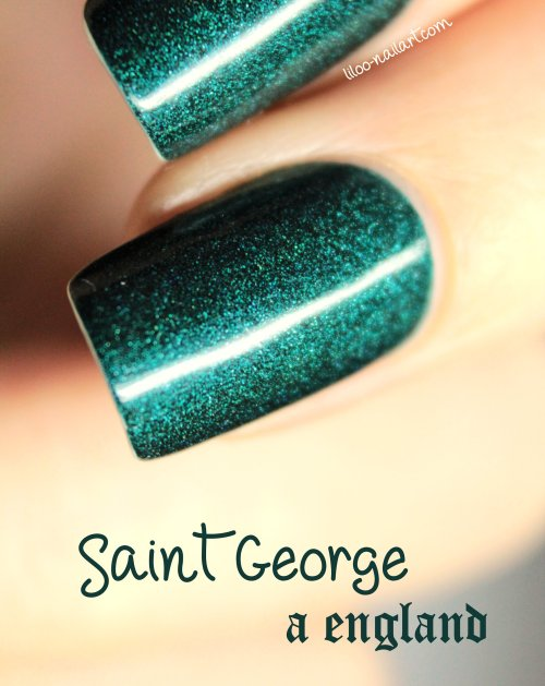 saint george a-england liloo nail art pshiiit