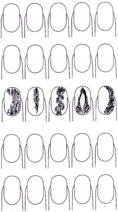 entraînement virgules liloo nail art atelier