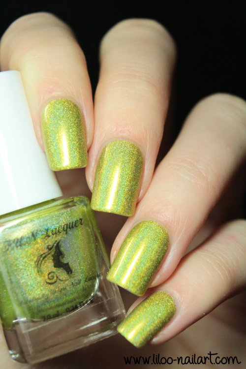 margarita cocktail summer 2014 holo polish by fun lacquer liloo nail art