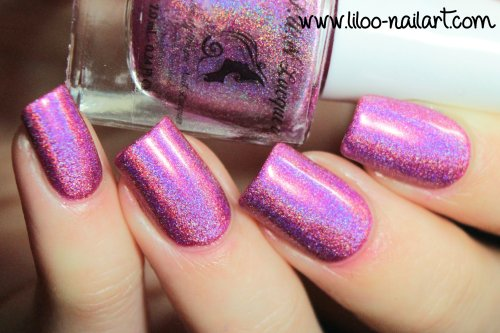 uniform for summer bikini summer 2014 holo polish by fun lacquer