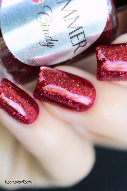 cindy shimmer polish liloo nail art