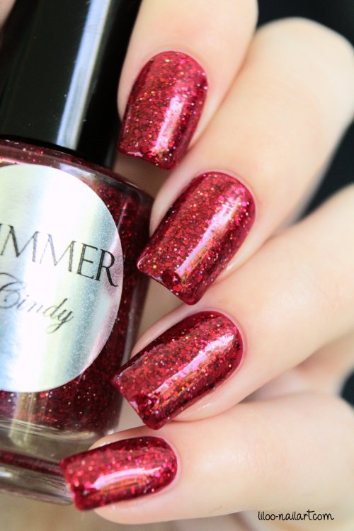 cindy shimmer polish liloo nail art