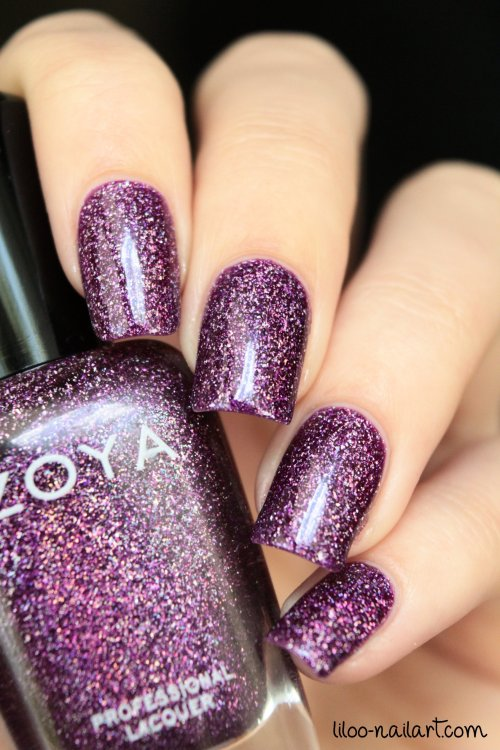 aurora zoya liloo nail art