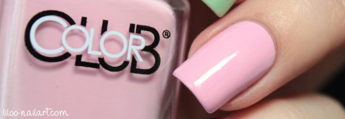 Je t'aime Color club liloo nail art