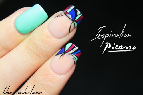 nail art inspiration picasso liloo