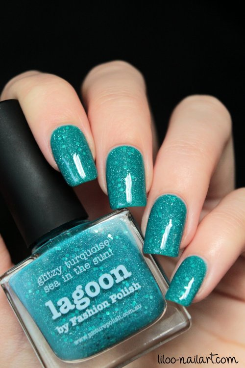 lagoon picture polish liloo nail art