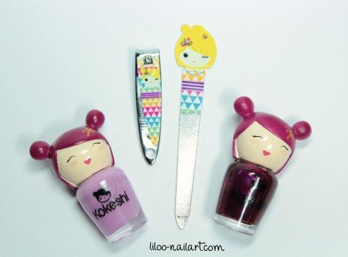 kokeshi kit manucure liloo nailart