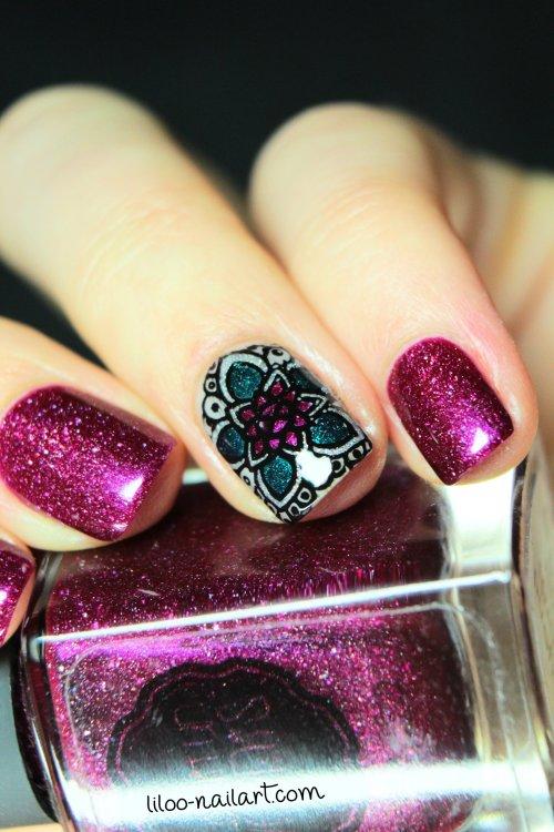 stamping inversé liloo nailart