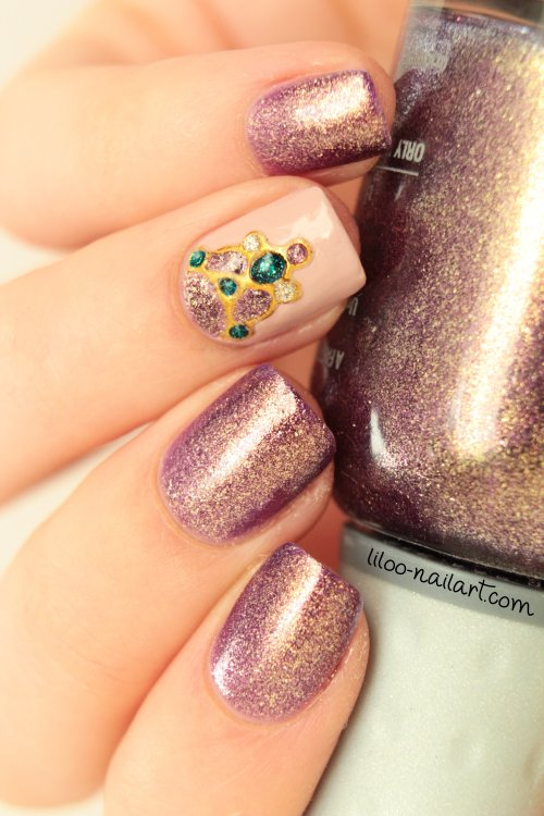 gel foil bijoux liloo nail art