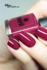 bourgogne vernis avri liloo nail art