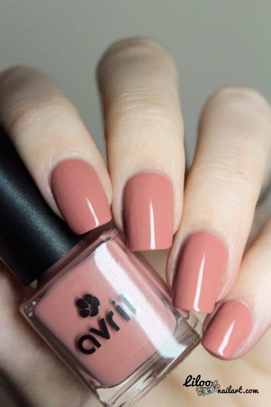 nude vernis avri liloo nail art