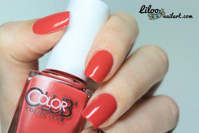 cabin fever colorclub liloo nail art